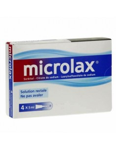 Microlax constipation occasionnelle
