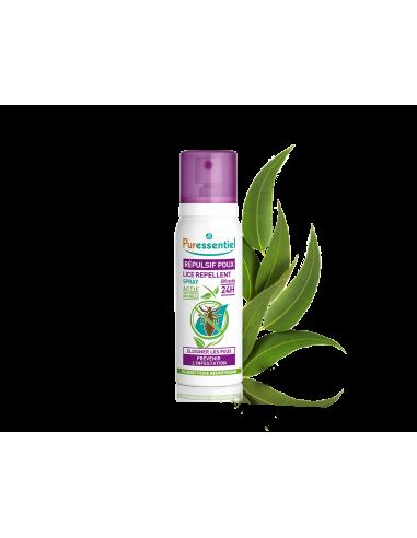 PURESSENTIEL Spray répulsif anti-poux