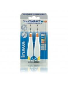 INAVA Trio Compact 1/2/3 Brossettes Inter-Dentaires
