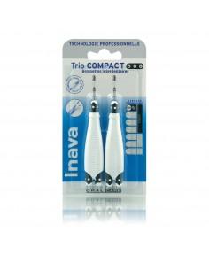 INAVA Trio Compact Noire 0,6mm - brossettes interdentaire