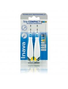 INAVA Trio compact - brossette interdentaire 0/1/2 - Etroits