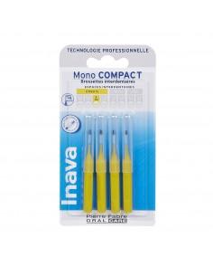 Inava Monocompact Jaune (ISO 2) - brossette interdentaire