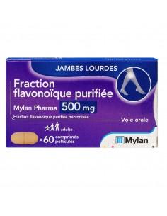 MYLAN Fraction flavonoïque purifiée 500mg