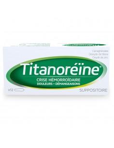 TITANOREINE Suppositoire