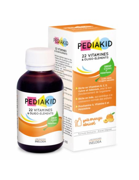 PEDIAKID 22 Vitamines & Oligo-Éléments