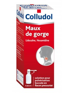 COLLUDOL Maux de gorge
