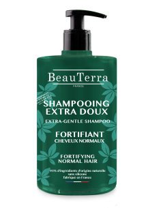 BEAUTERRA Shampoing extra-doux fortifiant