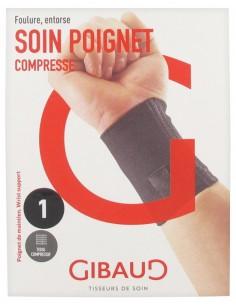 GIBAUD SOIN POIGNET Compresse-foulure/entorse
