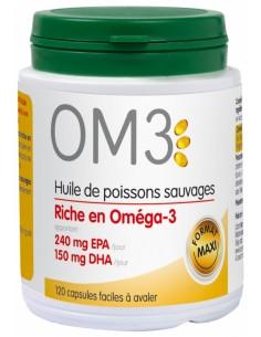 OM3 huiles de poissons sauvages