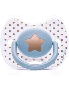 SUAVINEX Sucette couture bleue étoile