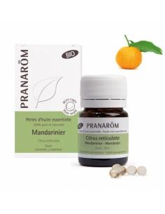 PRANAROM Perles d'huile essentielle Mandarinier bio
