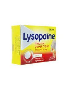 LYSOPAINE Maux de gorge aigus