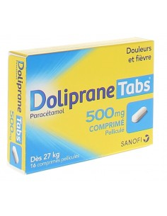 DOLIPRANE Tabs 500 mg 16...