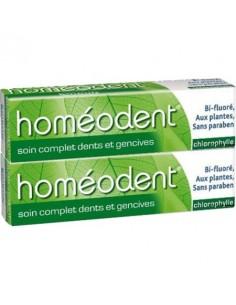 HOMEODENT Soin complet chlorophylle lot de 2