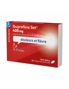 IBUPROFENE Set 400 mg 12...