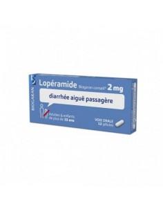 Lopéramide 2mg Diarrhée aiguë passagère Gélule