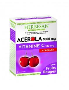 HERBESAN Acérola 1000 Fruits rouges